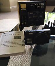 Nikon COOLPIX S7000 16.0MP Digital Camera - Black