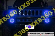 ORACLE Hummer H1 92-02 BLUE Surface Mount LED Headlight Halos Waterproof