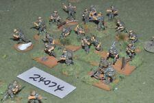 20mm WW2 / british - chindits 20 figures - inf (24074)