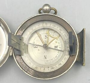 Antique Nautical Maritime Navigational Compass  Made in France