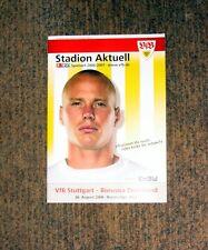 Stadion Aktuell, VFB STUTTGART: BORUSSIA DORTMUND,06/07
