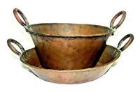 Copper Cauldron Pot Bowl Set