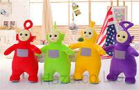 Teletubbies Po Tinky Winky Laa Dipsy Plush Kids Toy Baby Soft Toys Gift New