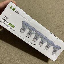 6PCS Non Dimmable LED Lighting Ever, GU10 Base Light Bulb, 350lm, 5000K