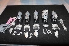 WARHAMMER CHAOS KNIGHTS X5 REGGIMENTO metallo plastica job lot games workshop ANNI'90