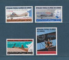 Comores république  l' avion et la poste  1987  poste  aérienne  **