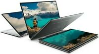 """Dell 2-in-1 XPS 13.3"""" TOUCH FHD Intel i7 3.90GHz 512GB SSD 16GB RAM WIN10 Silver"""