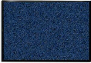 Casa pura® Sky Dirt Resistant Door Mat Non-Slip Polypropylene Vinyl Blue 90x150
