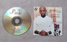 """CD AUDIO MUSIQUE / JOE FEATURING MYSTIKAL """"STUTTER (DOUBLE TAKE REMIXES)"""" 3T CDS"""