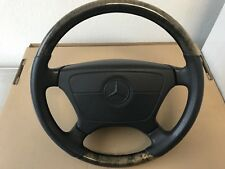 Mercedes Wood&Leather Steering Wheel W124 W140 W201 W202 W210 129