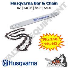 """Husqvarna Bar & Chain 16"""" for 240, 141, 142   501959256 & 576936556"""