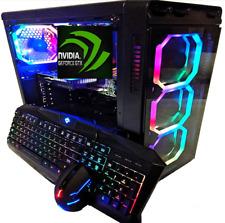 i7 GAMING DESKTOP PC i7 UP TO 3.33 GHZ SSD DRIVE 8GB RAM GTX 560/750 WINDOWS 10