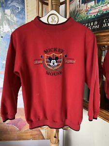 Vintage Mickey Mouse Disney Classic Original Crewneck Sweatshirt S/M