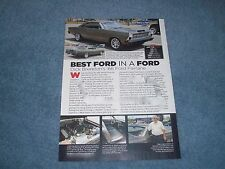 1966 Ford Fairlane Resto-Rod Article 5.4 Mustang SVT Powered