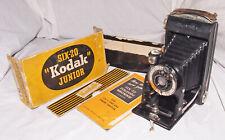 KodakSix-20 Vintage Folding Camera with 100mm Lens & Box