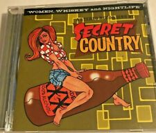 Secret Country : Women, Whiskey and Nightlife Music CD