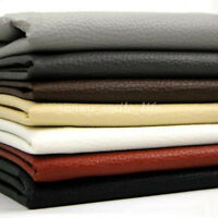 Lychee Faux Leather Cloth Fabric 100x140cm for Bag Sofa Car Interior Upholstery