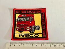 1a Aufnäher Patch Truck Trucker IVECO