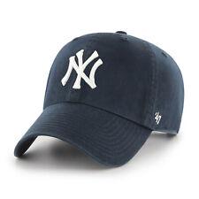 MLB New York Ny Yankees Casquette Bleu Marine Basecap de Baseball Nettoyage Logo
