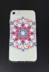 Encrusted Crystals - Mandala Series Protective Quality Case for Apple iPhone 7+