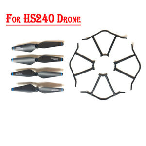 Holy Stone HS240 Drone Spare Parts Kits Propellers Landing Gear Propeller Guards