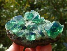 Fluorite Green Blue, Diana Maria Mine, Rogerley, England. 7 x 5 cm.