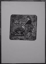 MINO MACCARI linoleografia 1951 SENZA TITOLO (NS RIF 16)