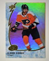 2019-20 ICE Orange Parallel #39 Claude Giroux - Philadelphia Flyers