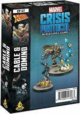 Marvel Crisis Protocol Cable and Domino Miniature Game