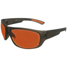 Reebok Reeflex Golf Sunglasses, Black Frame/Orange Mirror Lens
