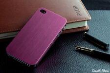 Design Metal Hülle für Apple iPhone 4s 4 Tasche Schale Case - Pink (27PI)