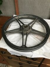 KEEWAY RK125 2016 FRONT WHEEL 18x1.60 A FEW CHIPS OF PAINT OFF OTHERWISE OK