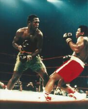 Joe Frazier vs Muhammad Ali ONE  8x10 action color  photo Madison Sq. Garden