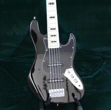 Starshine Stock 5 Strings JB Electric Bass Guitar Black Color Mape Fingerboard