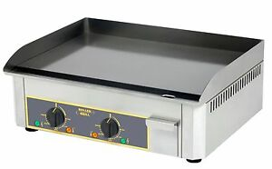 ROLLER GRILL - Steel Griddle Electric - PSR 600E