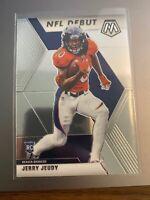 2020 Panini Mosaic #267 Jerry Jeudy NFL Debut Rookie Broncos