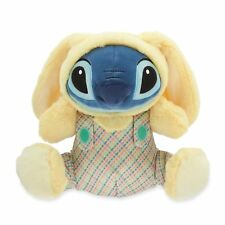 Disney Store Stitch Easter Bunny plush plaid outfit 2018 BNWT