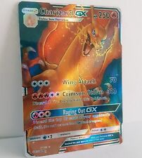 Charizard GX full tipo custom/mismos Pokemon Card/glurak GX mapa