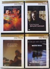 Lote 8 Películas Dvd Clint Eastwood/ Mistic River/ Puentes Madison... Original