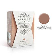 LeChat Perfect Match UV Gel Polish & Nail Lacquer PMS216 CoCoa Kisses 0.5oz
