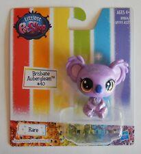 NEW Littlest Petshop Hasbro Rare Brisbane Aubergleam Purple Koala #40 Toy