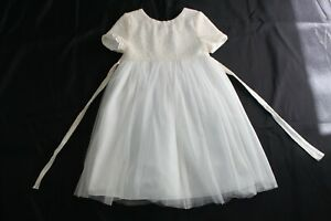 I love gorgeous 6-7 Ivory Party Sequins Dress Easter Wedding 1st Communion
