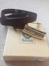 Belstaff Cintura Cintura in Pelle Pelle Di Lusso Cintura Belstaff Nuovo con Etichetta Donna 70 cm