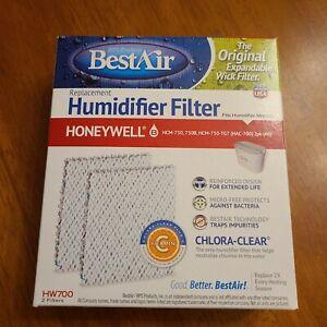 BestAir Universal Humidifier Filter  HW700 2 filters