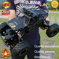 1/16 Scale 2.4GHz Remote Control 4WD RC Model Car Off-road Vehicle RTR Kids Toy