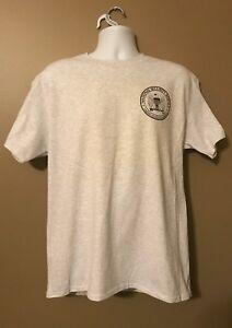 NSA National Security Agency Ft Meade MD SIGINT Short Slv Lt Gray MORALE T-Shirt