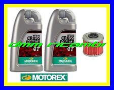 Kit Tagliando HUSQVARNA TXC 250 R 13 Filtro Olio MOTOREX Cross Power 10W/60 2013