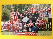 M14/2003 Auflage 2000 Stück Fussball FC Bayern Deutsche Meisterschaft 1989/1990
