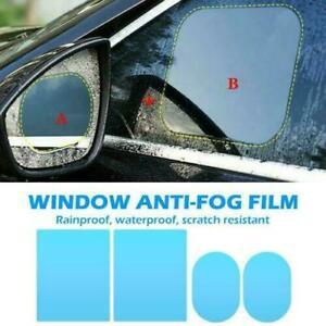 4 Car Rearview Mirror Glass Film Waterproof Anti-Fog Rain-Proof Window Membrane