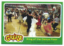 grease movie Topps trading card vtg 1978 #76 Sandy Danny Dancing at the prom